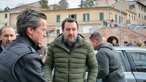 Matteo Salvini, Italiens inrikesminister