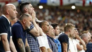 Tottenham-fans efter CL-finalen.