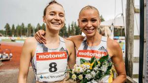 Reetta Hurske och Annimari Korte ler.