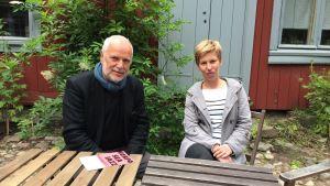 Bosse Mellberg och Riitta Paakki