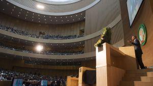 Barack Obama talade inför Afrikanska unionen