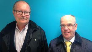 Dan Kronqvist (t.v.) och Nils-Olof Nylund