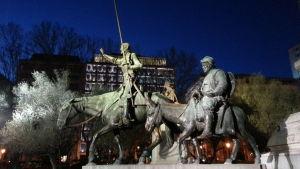 Don Quijoten patsas Madridissa