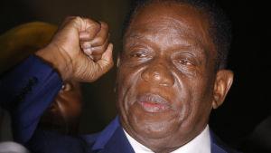 Emmerson Mnangagwa kommer att ta över presidentskapet i Zimbabwe.