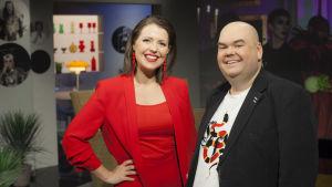 Eva Frantz och Johan Lindroos leder De Eurovisa 2018.