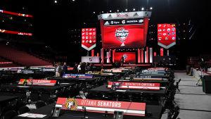 Bild från NHL-draften 2017.