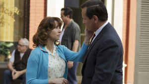 Tony Lip i ömt ögonblick med hustrun Dolores.