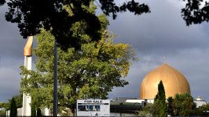 51 människor dödades i massakrerna i Al Noor moskén (på bilden) och moskén i Linwood
