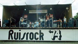 Ungerska bandet Locomotiv GT på Ruisrock 1974.