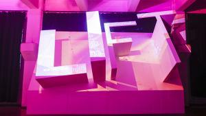 Lift-tapahtuman logo