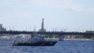 Säkerhetspådraget i Riga var stort under toppmötet
