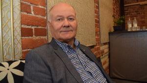 Jouko Kavander, fullmäktiges ordförande i Hangö sedan 2017.