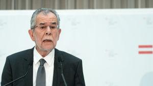 Österrikets presidentkandidat Alexander van der Bellen.