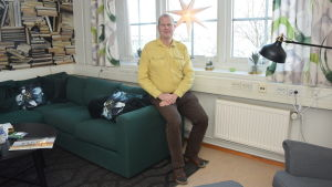Björn Lindqvist har sin bokförings- och disponentbyrå i Fixhuset i Ekenäs.