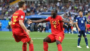 Romelu Lukaku har gjort fyra mål i VM i Ryssland.