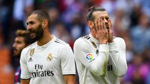 Karim Benzema och Gareth Bale.