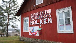 Kulturcentret Holken i Ingå, som drivs av Maria och Pekka von Cräutelin.