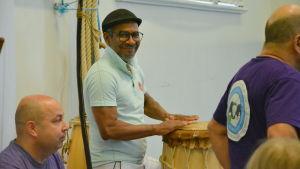 Capoeiramästaren Garrincha.