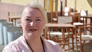 Borgå stads servicekoordinator Carina Liljeberg-Karlsson