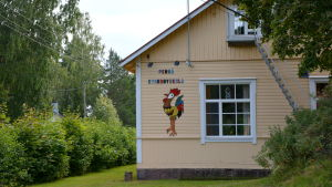 Kyrkoby skola i Pernå i Lovisa.