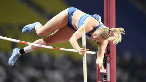 Wilma Murto hoppar stav i VM.