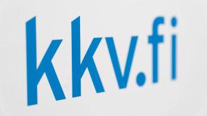 Erikoislähikuva kkv.fi -logosta.