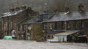 Storm, oväder, England