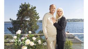 Solsidan Fredde ja Mikaela