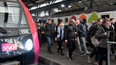 Lokforarna i tyskland gar i strejk