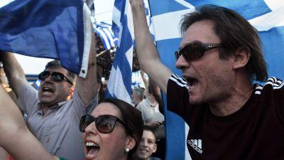 Grekisk oenighet om makedonien