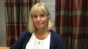 Bettina Brantberg är lektor för det sociala området vid Arcada