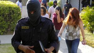 razzia mot Mossack Fonsecas kontor i El Salvador