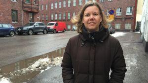 Linn Hongell är ordförande för Hem och Skola vid Minervaskolan.