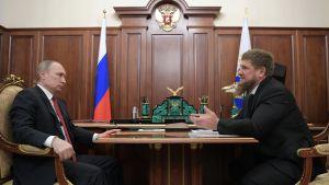 Vladimir Putin och Ramzan Kadyrov