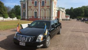 USA:s vicepresident Mike Pence på besök i Estland.