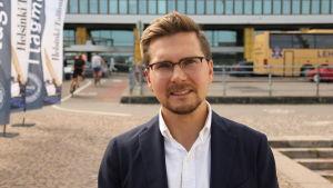 Mika Kärkkäinen  är jurist på Finlands näringsliv EK