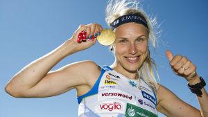 Minna Kauppis senaste VM-guld kom 2012.