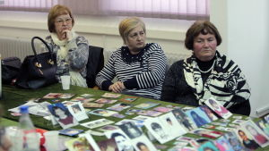 Offren i Srebrenica.