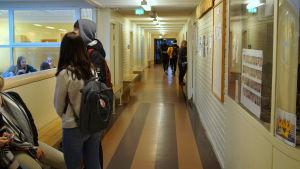 Oxhamns skola.