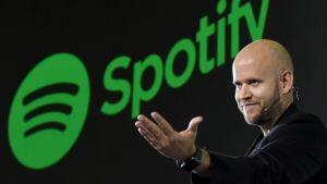 Daniel Ek, vd för Spotify, i september 2016.