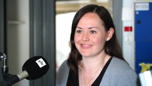 Helsingforspolitikerna Silja Borgarsdottir-Sandelin (SFP).