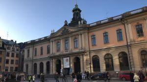 Börshusets byggnad i Gamla stan i Stockholm.