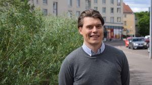 Joel Järvinen, landschef för Uber i Finland och Sverige