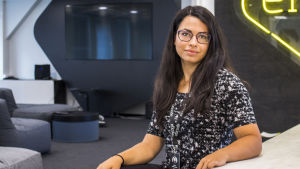 Teknologiayritys Eficoden käyttökokemusasiantuntija Valeria Verkhovskaia