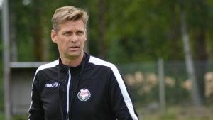 Niklas Käcko tog över FF Jaro i augusti 2018.