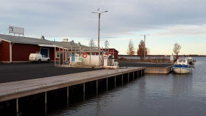 Ådöns fiskehamn.