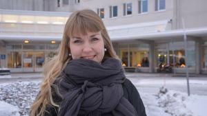 Heli Masa, kommunikationschef på Vasa centralsjukhus.