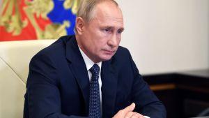 Rysslands president Vladimir Putin 11.8.2020