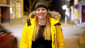 Porträttbild på Lina Koskinen-Holmqvist.