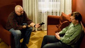 Intervju med Esa Holappa.